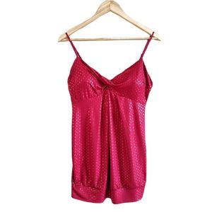Warehouse One Molded Cup Tank Top Blouse M